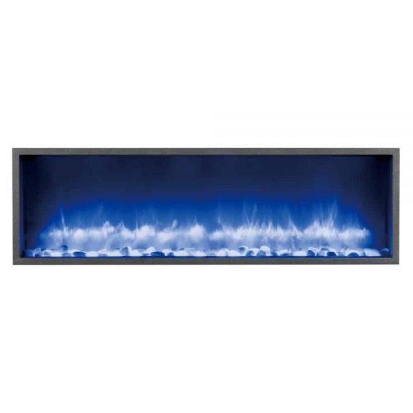 Dynasty 44 in. Built-in LED Electric Fireplace 2