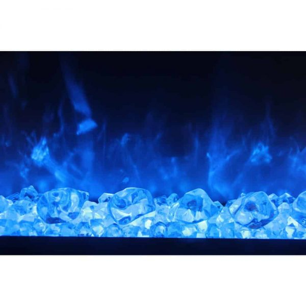 Dynasty 44 in. Built-in LED Electric Fireplace 3