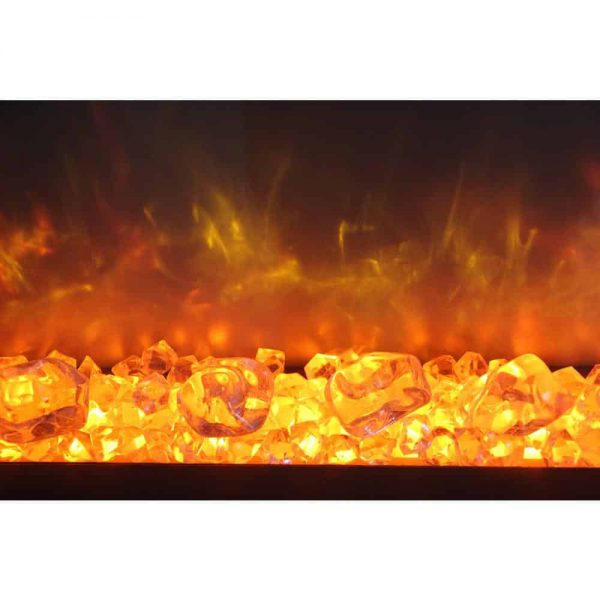 Dynasty 44 in. Built-in LED Electric Fireplace 4