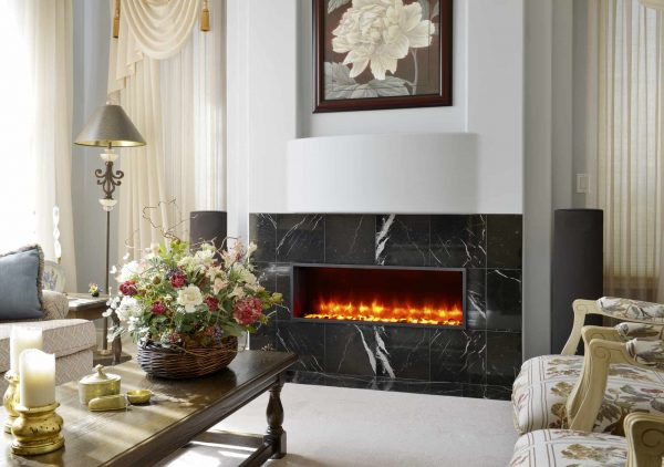 Dynasty 44 in. Built-in LED Electric Fireplace
