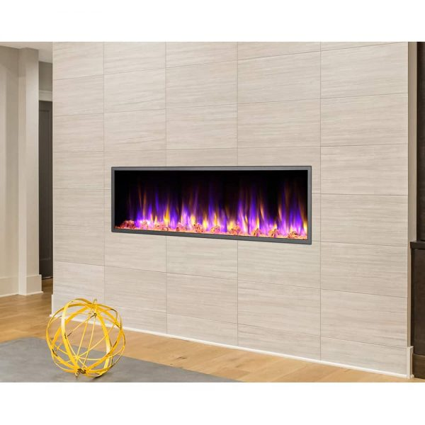 Dynasty 57 in. LED Wall Mounted Electric Fireplace 3