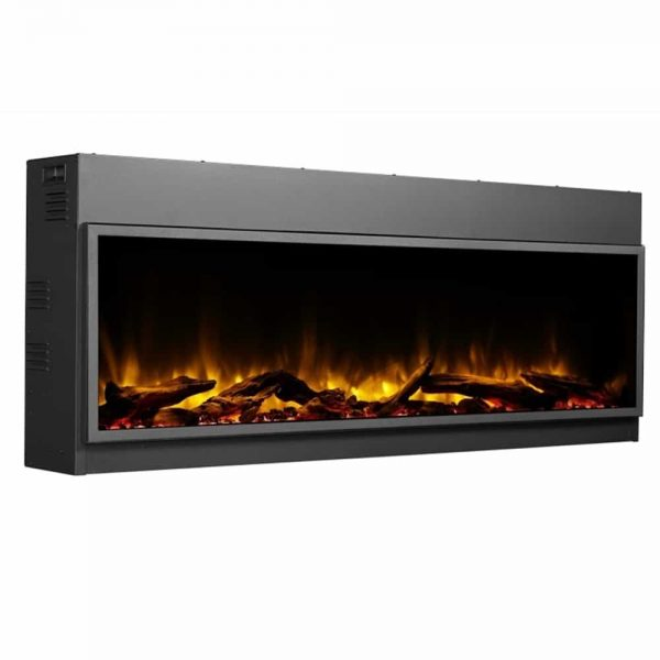 Dynasty 57 in. LED Wall Mounted Electric Fireplace 4