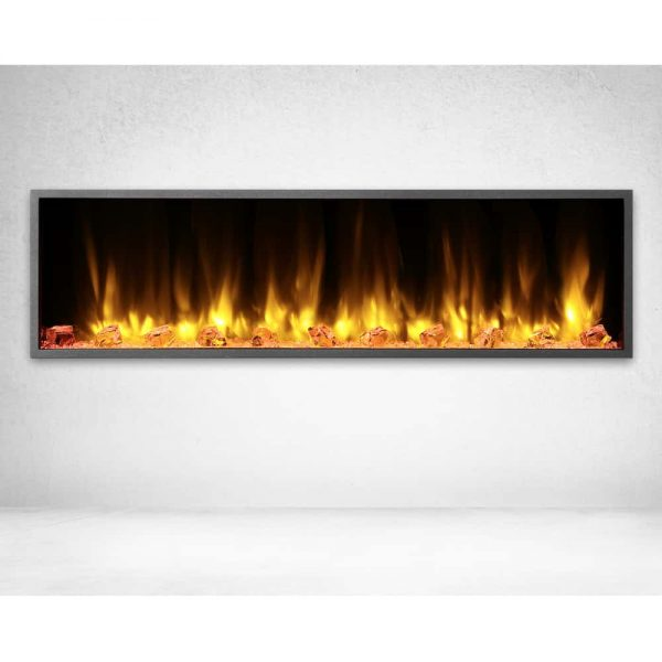 Dynasty 57 in. LED Wall Mounted Electric Fireplace