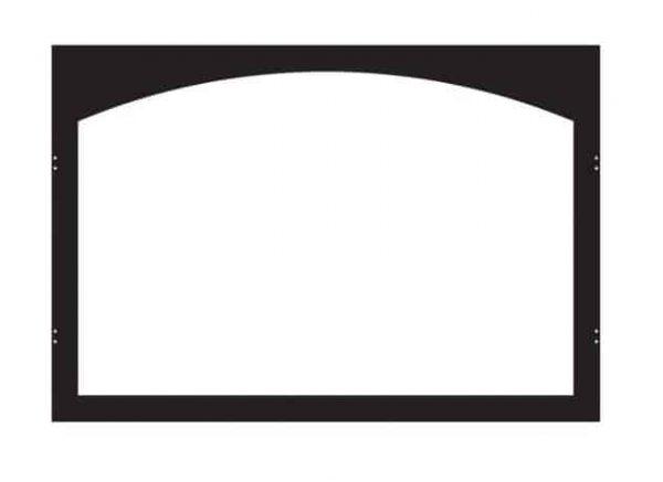 ECS VBY42GBL Arch Firebox Door Frame - Matte Black