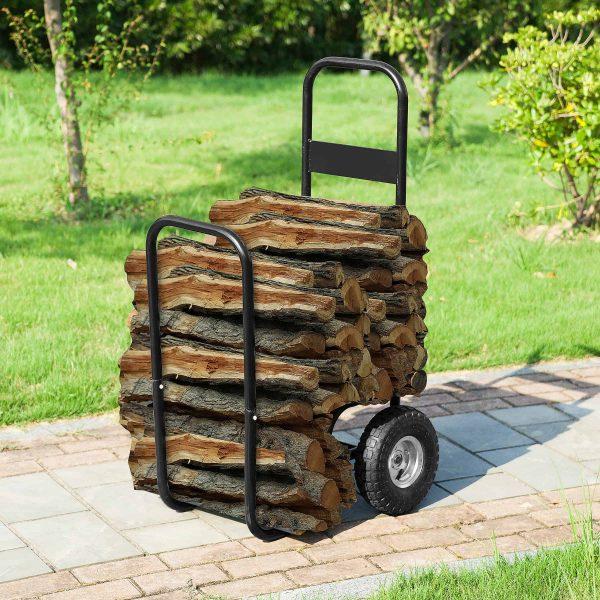 Firewood Log Cart