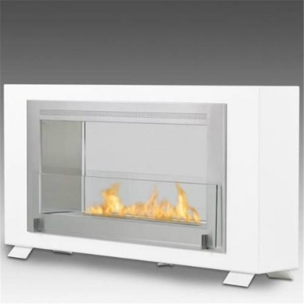 Eco-feu WS-00169-BB Cosy Wall Mounted & Built - In Ethanol Fireplace