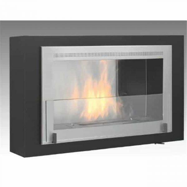 Eco-feu WU-00180-MB Santa Lucia Wall Ethanol Fireplace Bio Ethanol Wall Hanging Fireplace