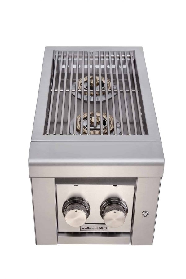 "EdgeStar ESB2LP Stainless Steel 26000 BTU 13"" Wide Liquid Propane Side Burner 5"