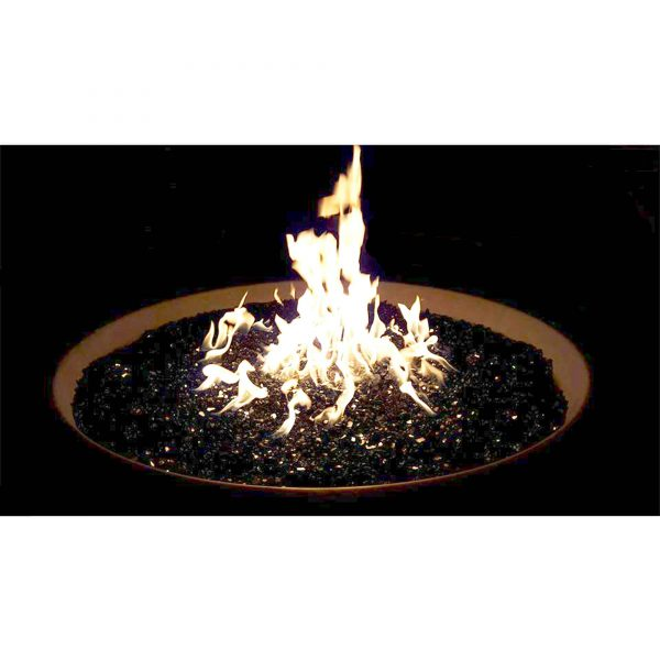 "Element Black Reflective 1/4"" Fire Glass, 10 lbs 1"