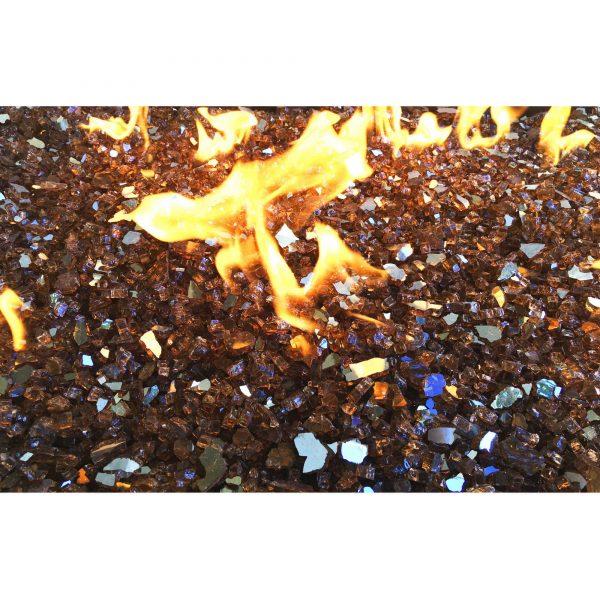 "Element Copper Reflective 1/4"" Fire Glass"