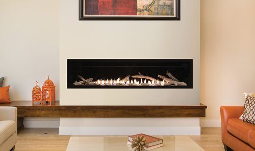 Empire Boulevard Vent Free 60 inch Fireplace Natural Gas 1