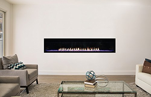 Empire Boulevard Vent Free 72 inch Fireplace Natural Gas