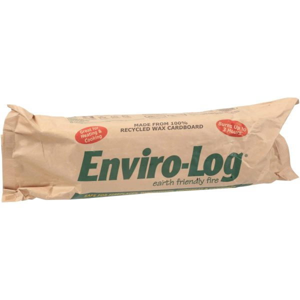 Enviro-Log 4 Pack/5 lb. Firelog Case 3