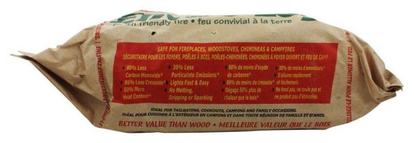Enviro Log - Earth Friendly Fire Log - 3 lbs. 3