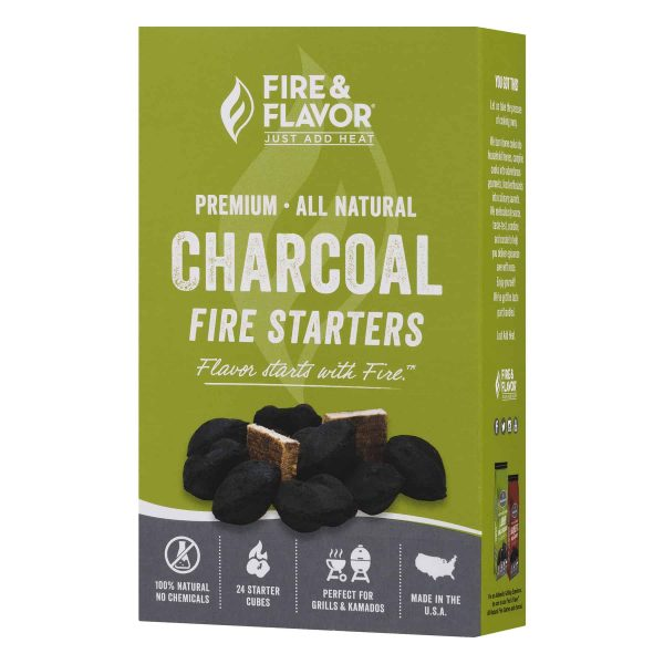 Fire & Flavor Charcoal Fire Starters, 1.0 CT 1
