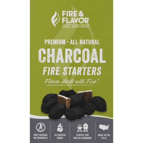 Fire & Flavor Charcoal Fire Starters, 1.0 CT 2