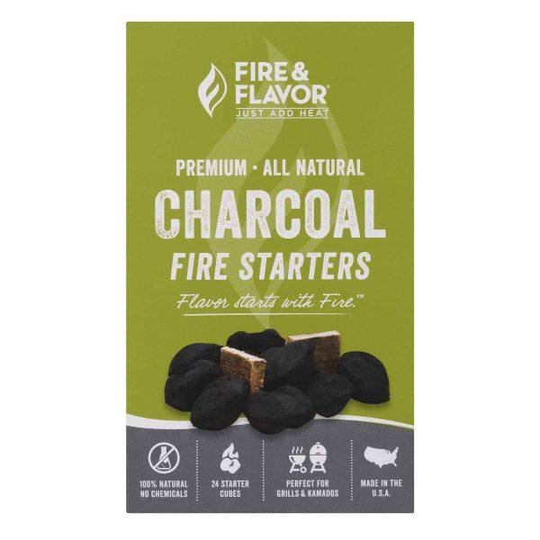 Fire & Flavor Charcoal Fire Starters