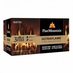 Fire Logs Ultraflame 6x3 HR Fireplace Wood Campfires Outdoor Renewable Natural