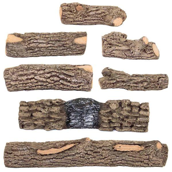 Firenado 24-Inch Oak Gas Logs (Logs Only 1