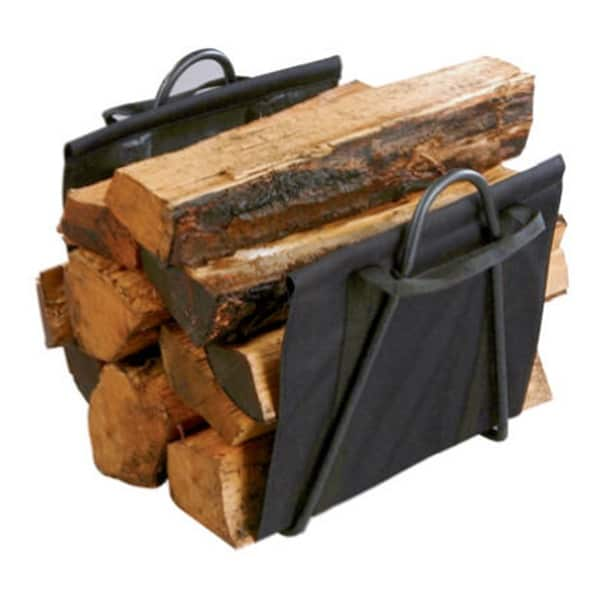 Fireplace Blk Log Tote