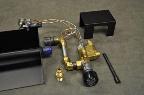 Fireplace Brass Gas Log Safety Propane LP Gas Pilot Light Complete Kit New