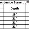 "Fireplace Burner Grand Canyon Jumbo Burner Front View 60"" FCPJUMBOBRNR-60 - 2"