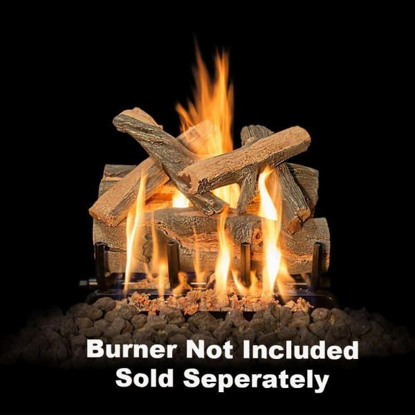 "Fireplace Logs 6Pc Arizona Juniper For Front View Burners 18"" (Burner Not Included) -"