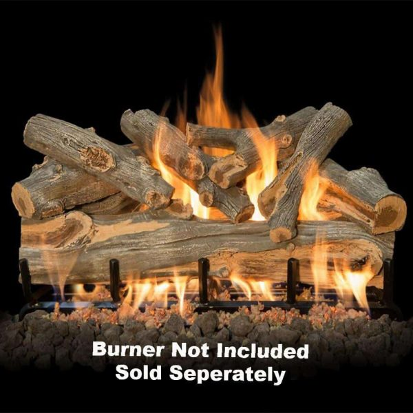 "Fireplace Logs 8Pc Arizona Juniper For See Through Burners 30"" (Burner not included) -"