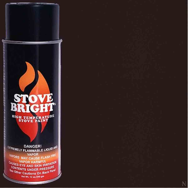 Forrest Paint Co. 6310 Bark Brown Stovebright Stove Paint
