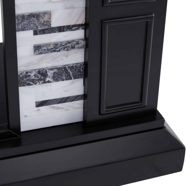 Frescan Marble Color Changing Fireplace by Ember Interiors 2