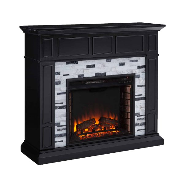 Frescan Marble Electric Fireplace by Ember Interiors 1