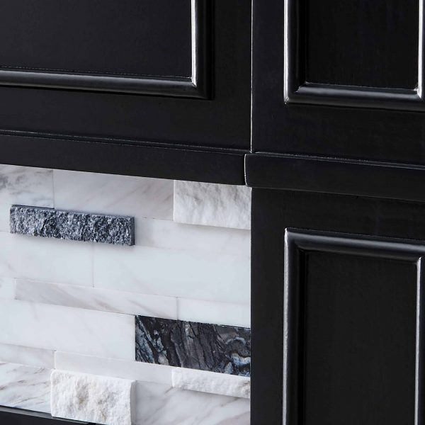 Frescan Marble Electric Fireplace by Ember Interiors 12