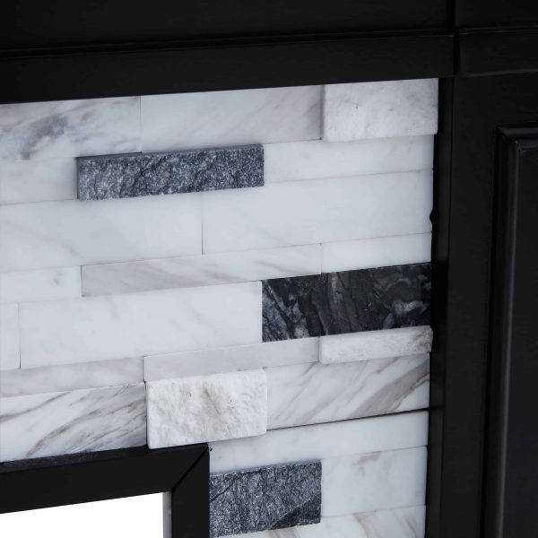 Frescan Marble Electric Fireplace by Ember Interiors 16