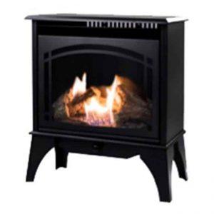 GSD2210 20K Black Vent Free Gas Stove