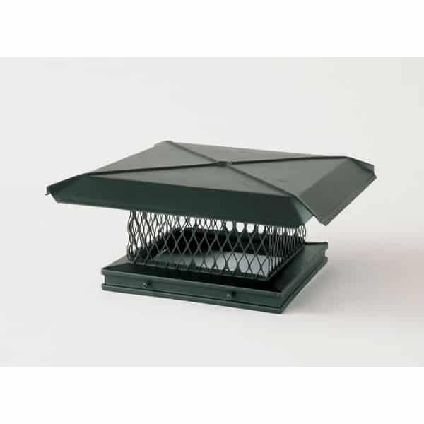 Gelco Single-Flue Galvanized Caps