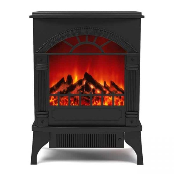 Gibson Living LW4203-GL Apollo Electric Fireplace Free Standing Portable Space Heater Stove