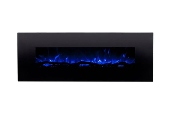 Gibson Living LW5072LE-GL 72 in. GL5072LE Oakland Log Linear Wall Mounted Electric Fireplace 2