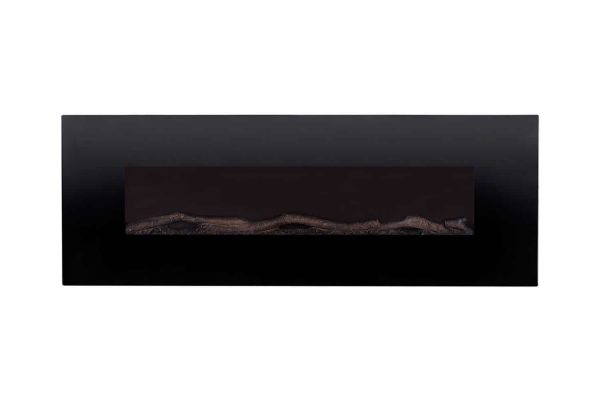 Gibson Living LW5072LE-GL 72 in. GL5072LE Oakland Log Linear Wall Mounted Electric Fireplace 3