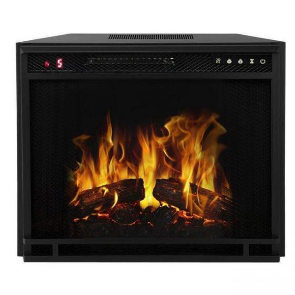 Gibson Living LW8033FLT-GL 33 in. Flat Ventless Heater Electric Fireplace Insert