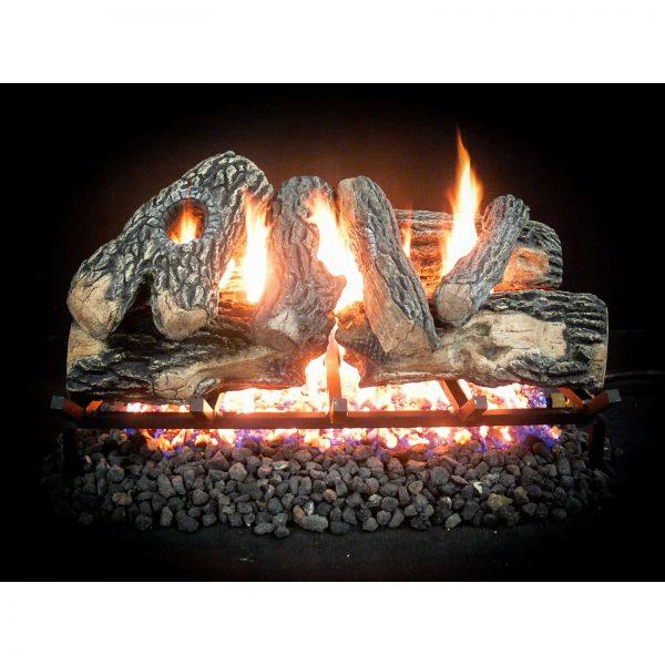 Glo-Fire GF-K-24-HK-LP 24 in. Hearth Distribution Kingston Propane Gas Log