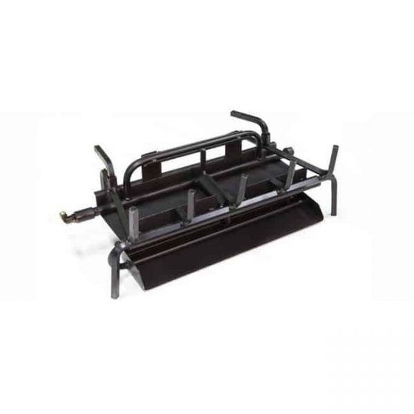 Grand Canyon Gas Logs 3BRN-24-SS Stainless Steel 3 Burner