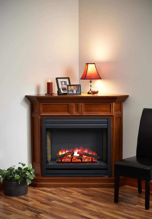 GreatCo Columbia Series Mantel w/ Electric Fireplace