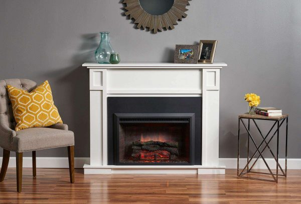 """GreatCo Electric Zero Clearance Fireplace Insert, 32"""" 2"""