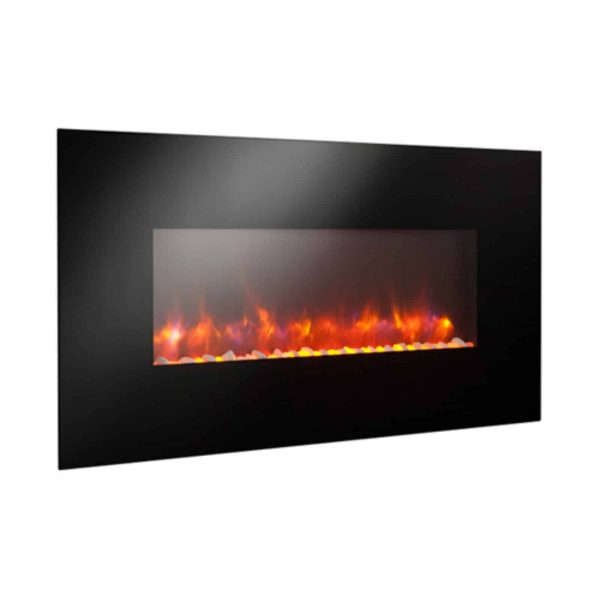 GreatCo Gallery Linear Electric LED Fireplace - 50 in. 1
