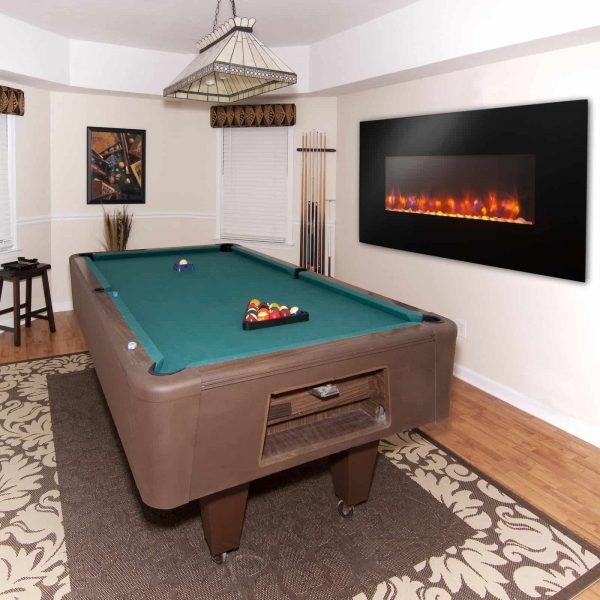 GreatCo Gallery Linear Electric LED Fireplace - 50 in. 2