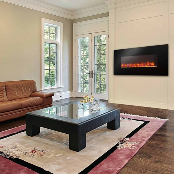 GreatCo Gallery Linear Electric LED Fireplace - 50 in. 3