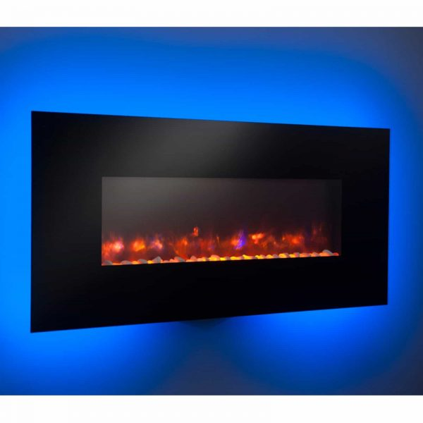 GreatCo Gallery Linear Electric LED Fireplace - 50 in. 4