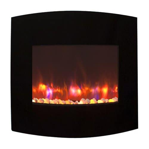 GreatCo Gallery Radius Linear Electric LED Fireplace
