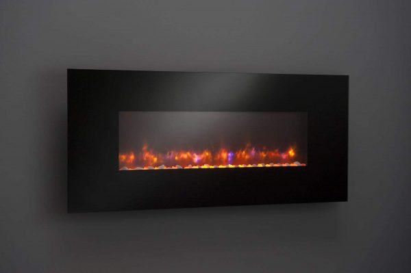 "GreatCo Gallery Series Built-in Electric Fireplace, 58"" 1"