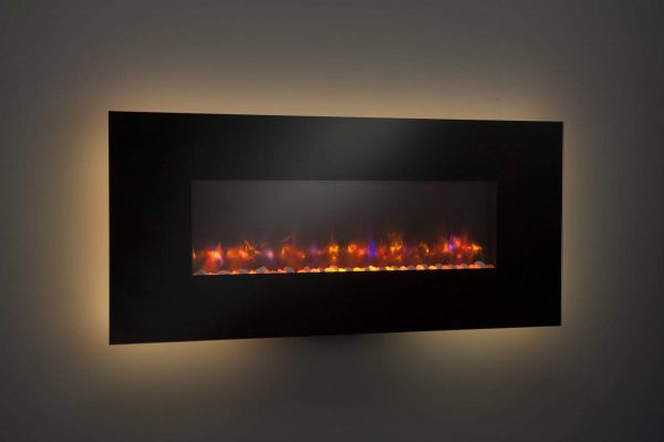 """GreatCo Gallery Series Built-in Electric Fireplace, 58"""" 2"""